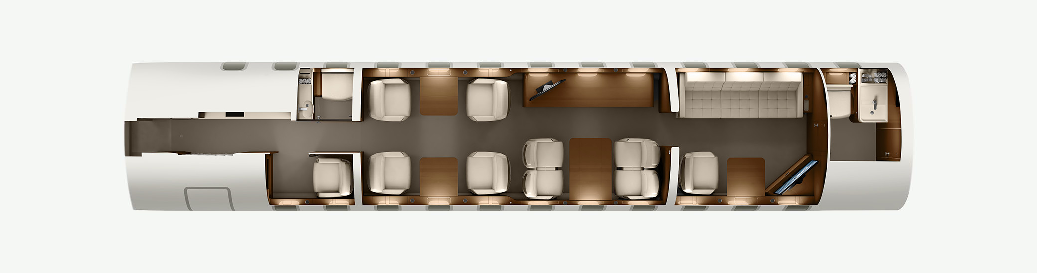 Global 8000 floor plan