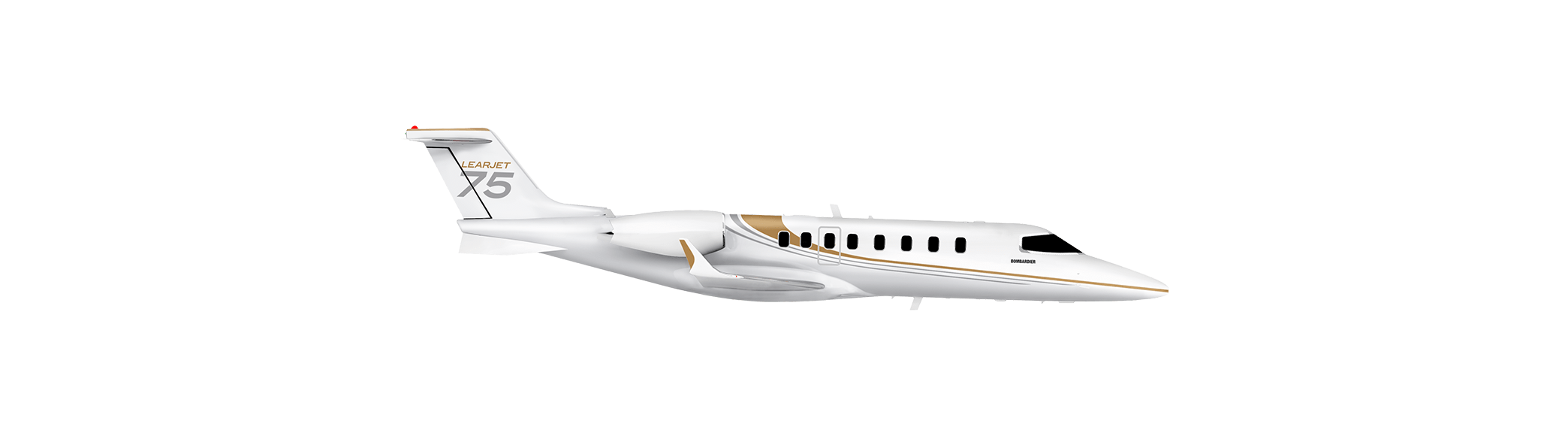 learjet75 side image