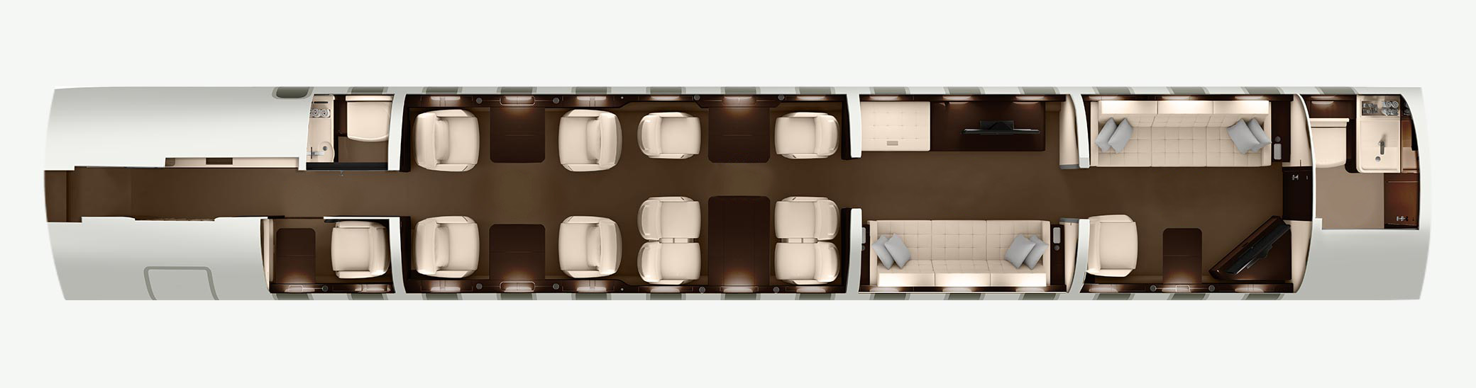 Global 7500 floorplan
