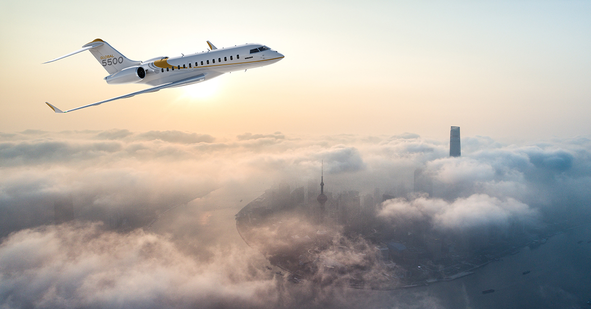 Global 5500 | Bombardier Business Aircraft