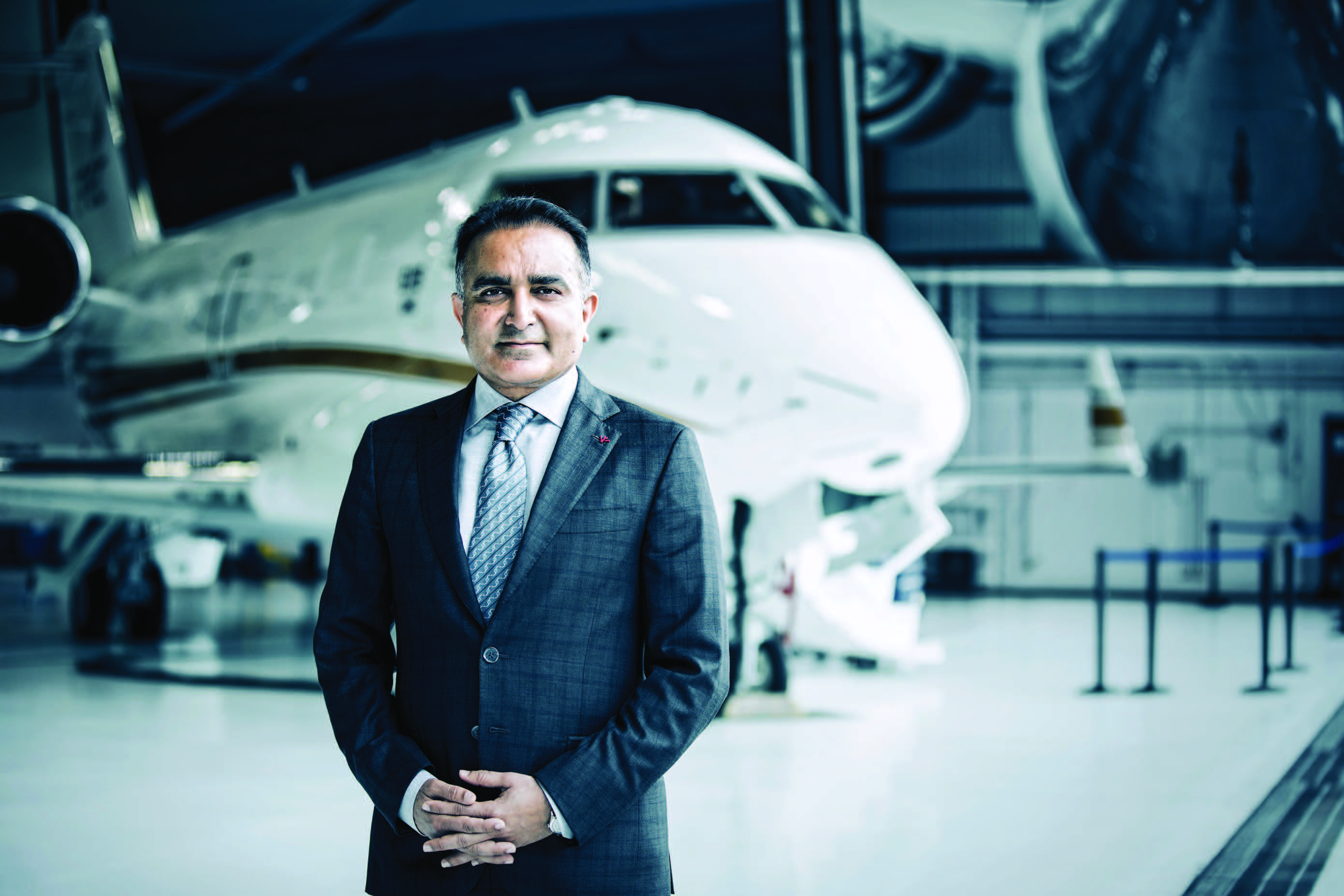 Family Man Bombardier Business Aircraft