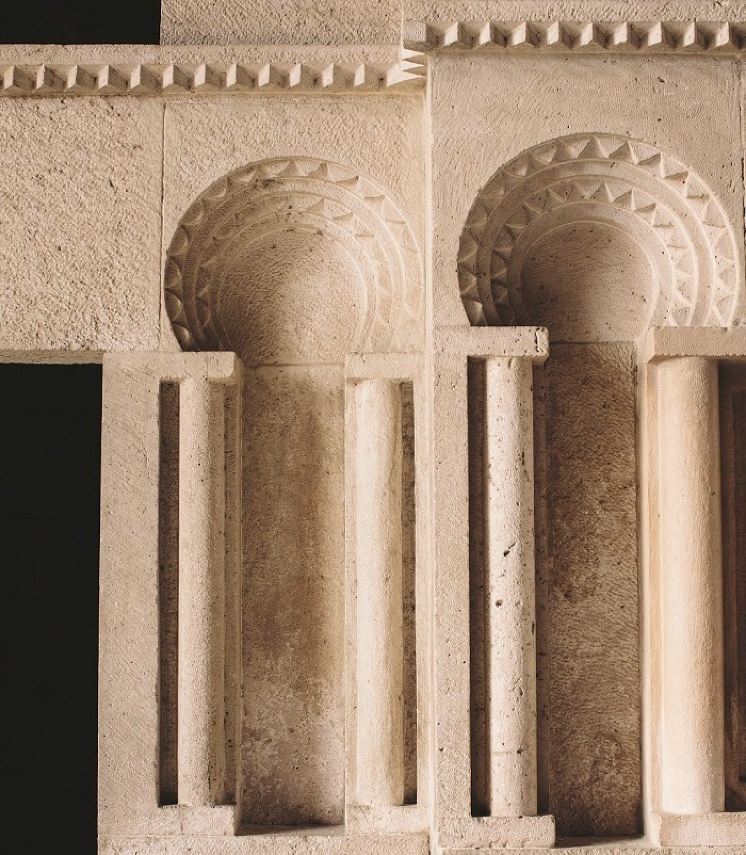 Palais des Omeyyades dans la citadelle d'Amman.