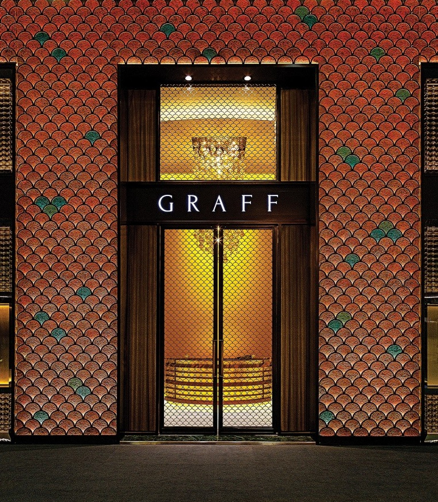 Graff booth at Baselworld, Basel, Switzerland.