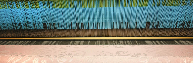 Frette's double jacquard loom