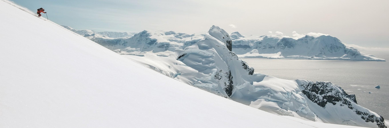 Skieurs sur le Mount Tennant