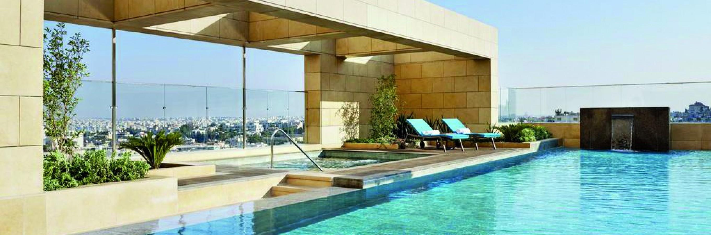 Hébergement de luxe : Penthouse Suite du Fairmont Amman