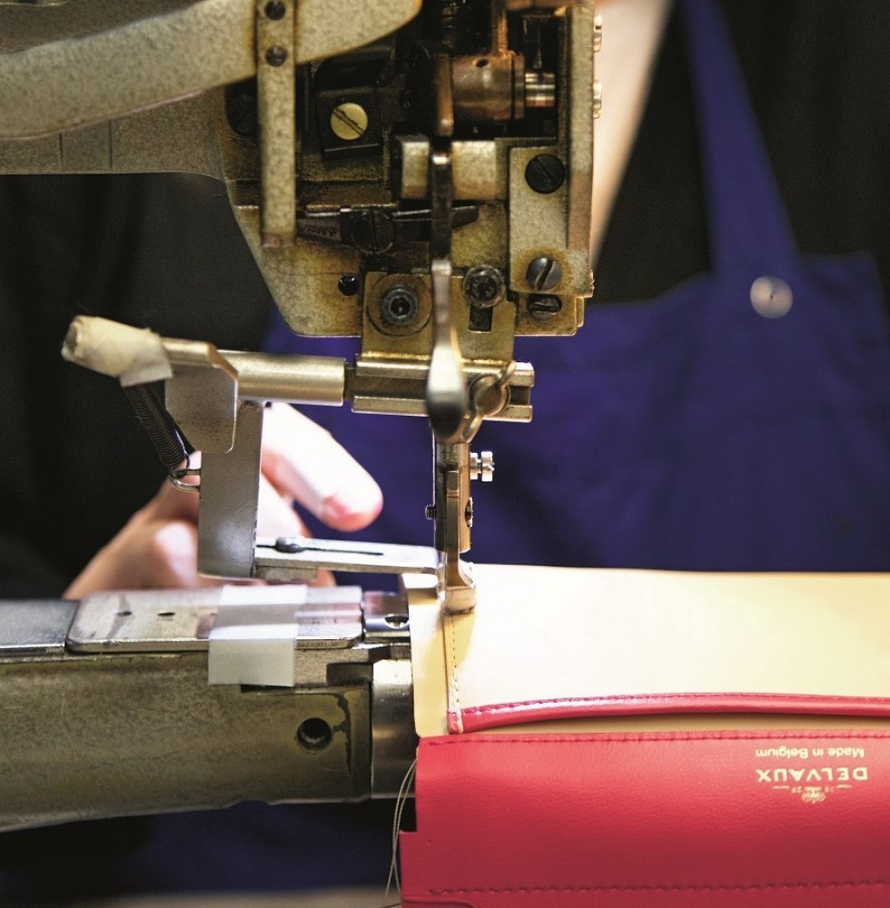Precise stitching and finite detail go into the making of every Delvaux bag