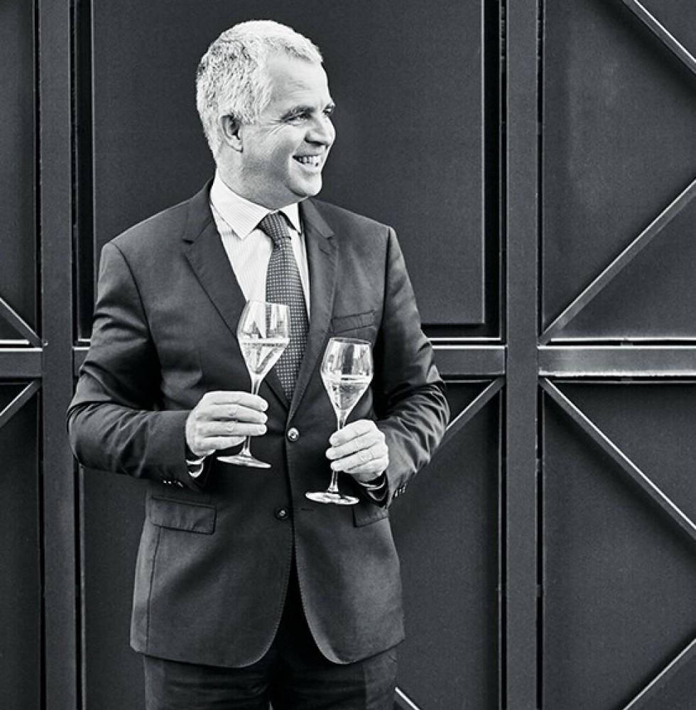 Olivier Krug, directeur de la Maison Krug.