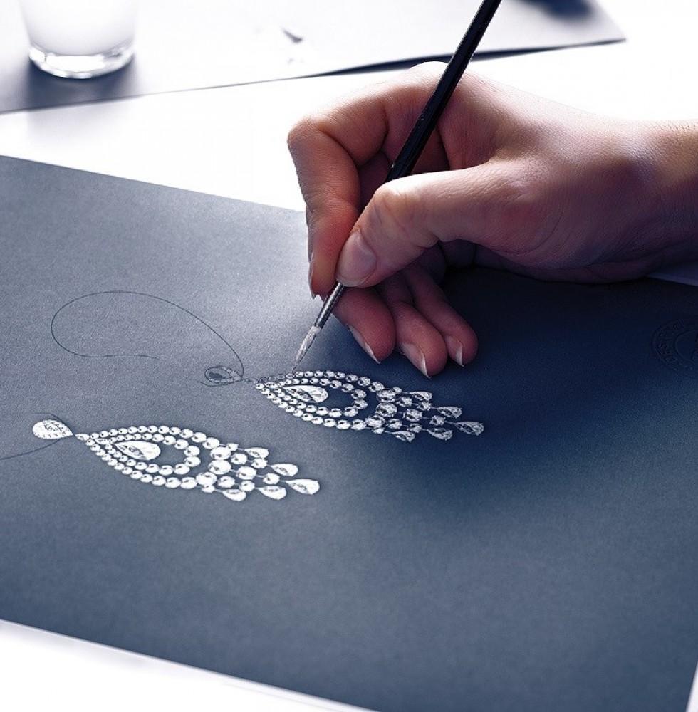 A Graff designer at work.