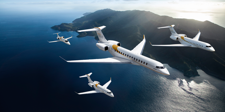 Bombardier Business Aircraft family