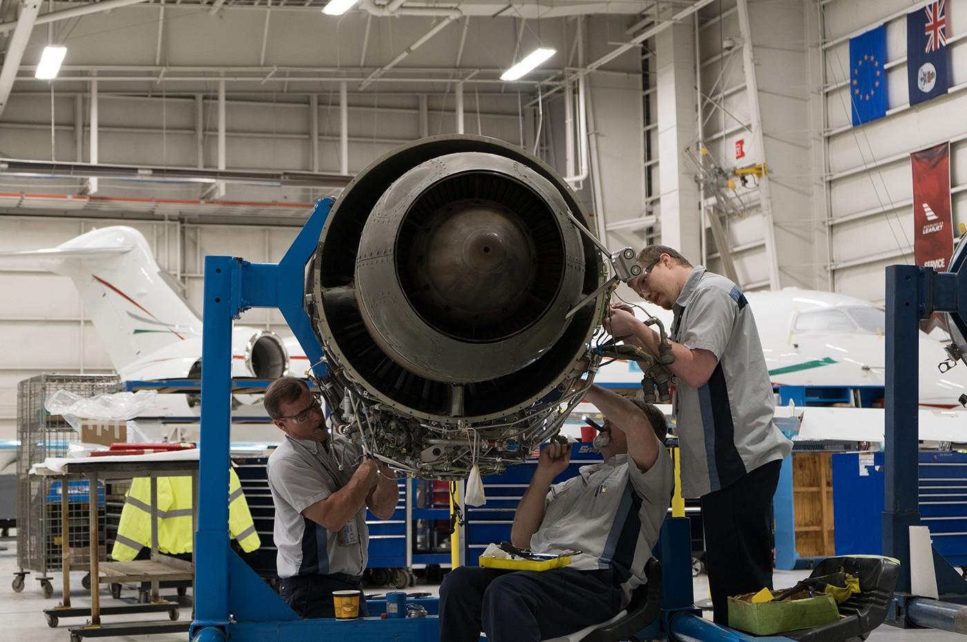 Dallas Service Centre Engine maintenance