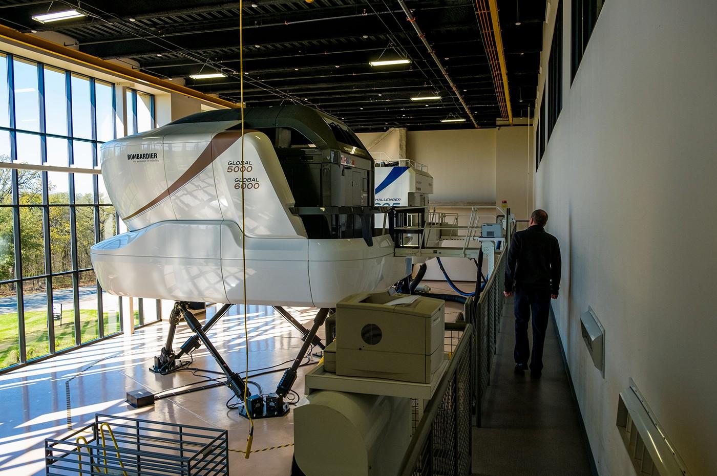 Dallas Training Centre Simulator