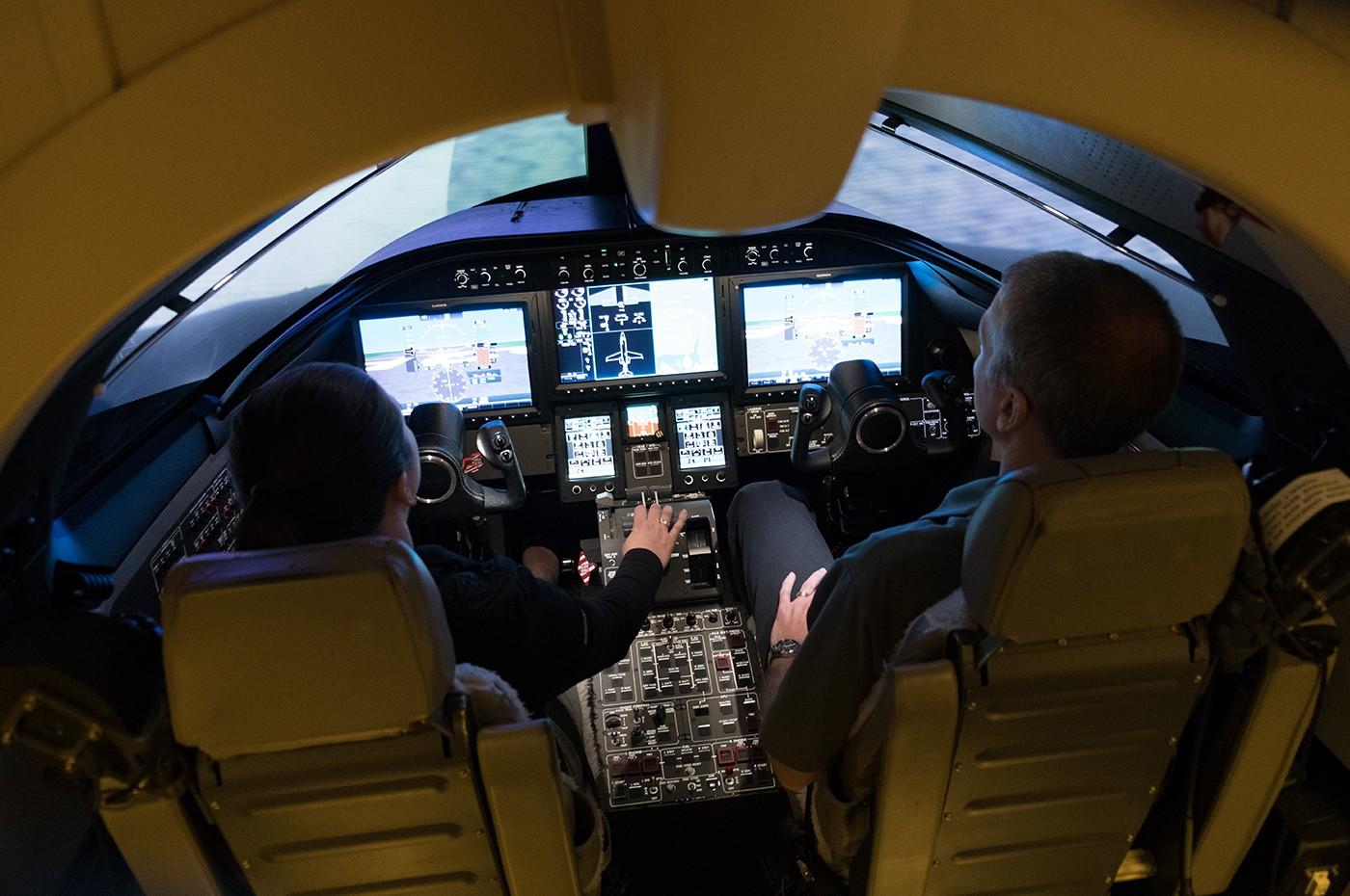 Dallas Training Centre Simulator 1