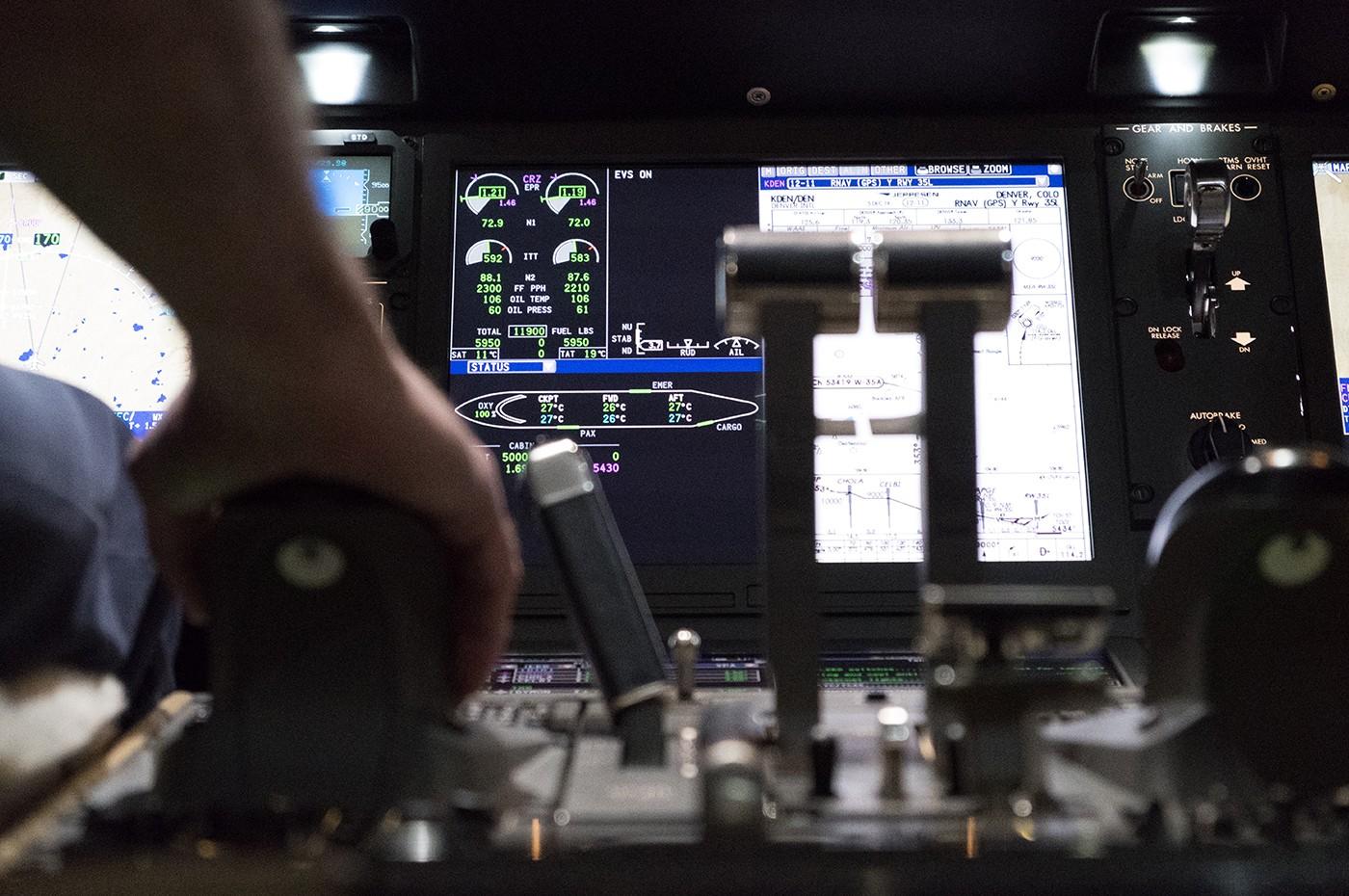 Dallas Training Centre Simulator 3