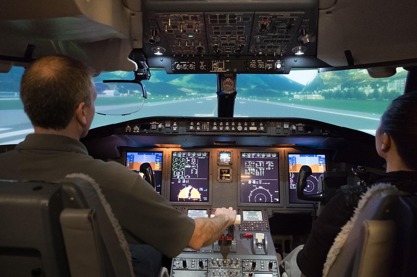 Dallas Training Centre Simulator 2