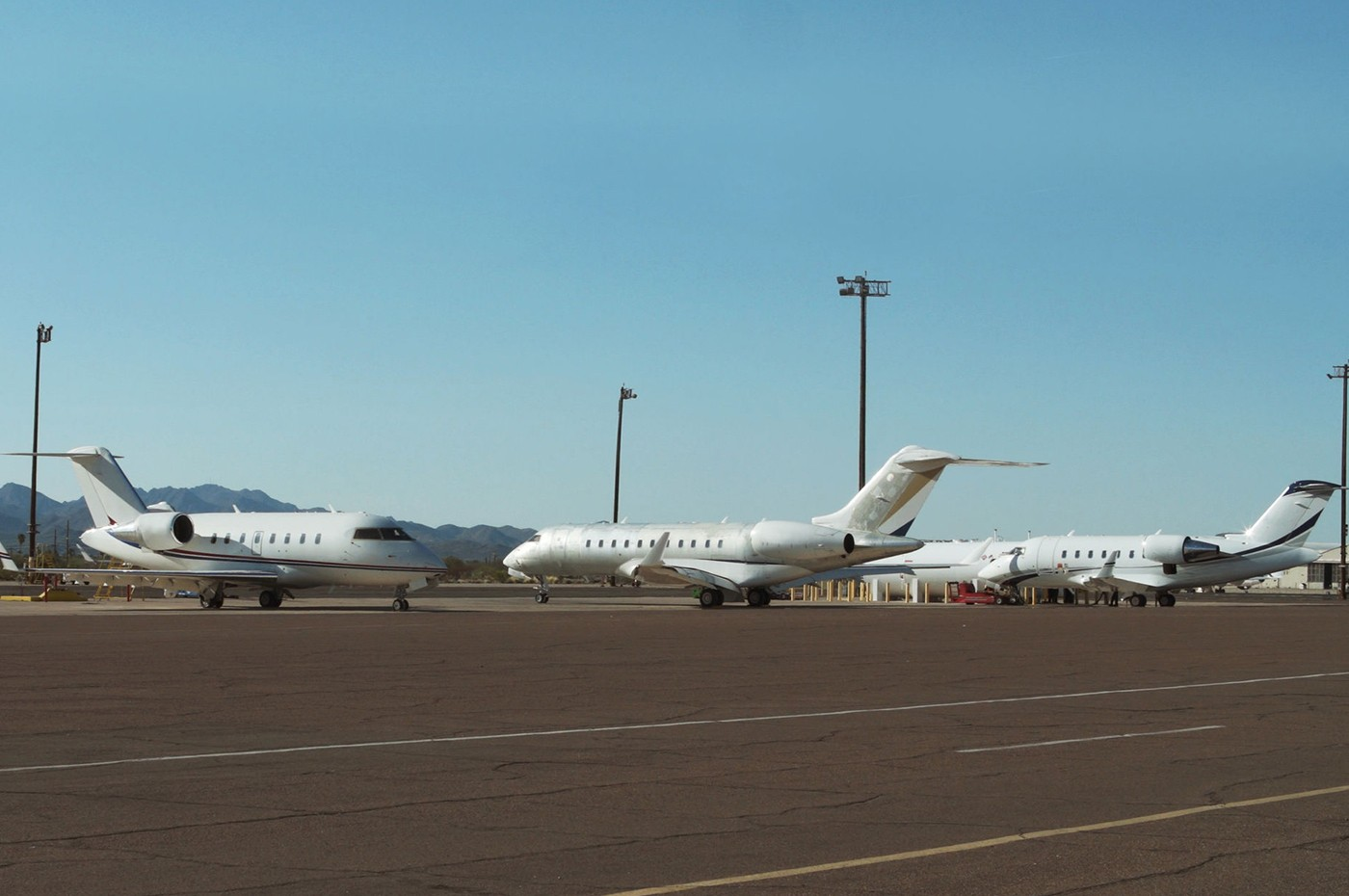 Tucson Service Centre - Tarmac