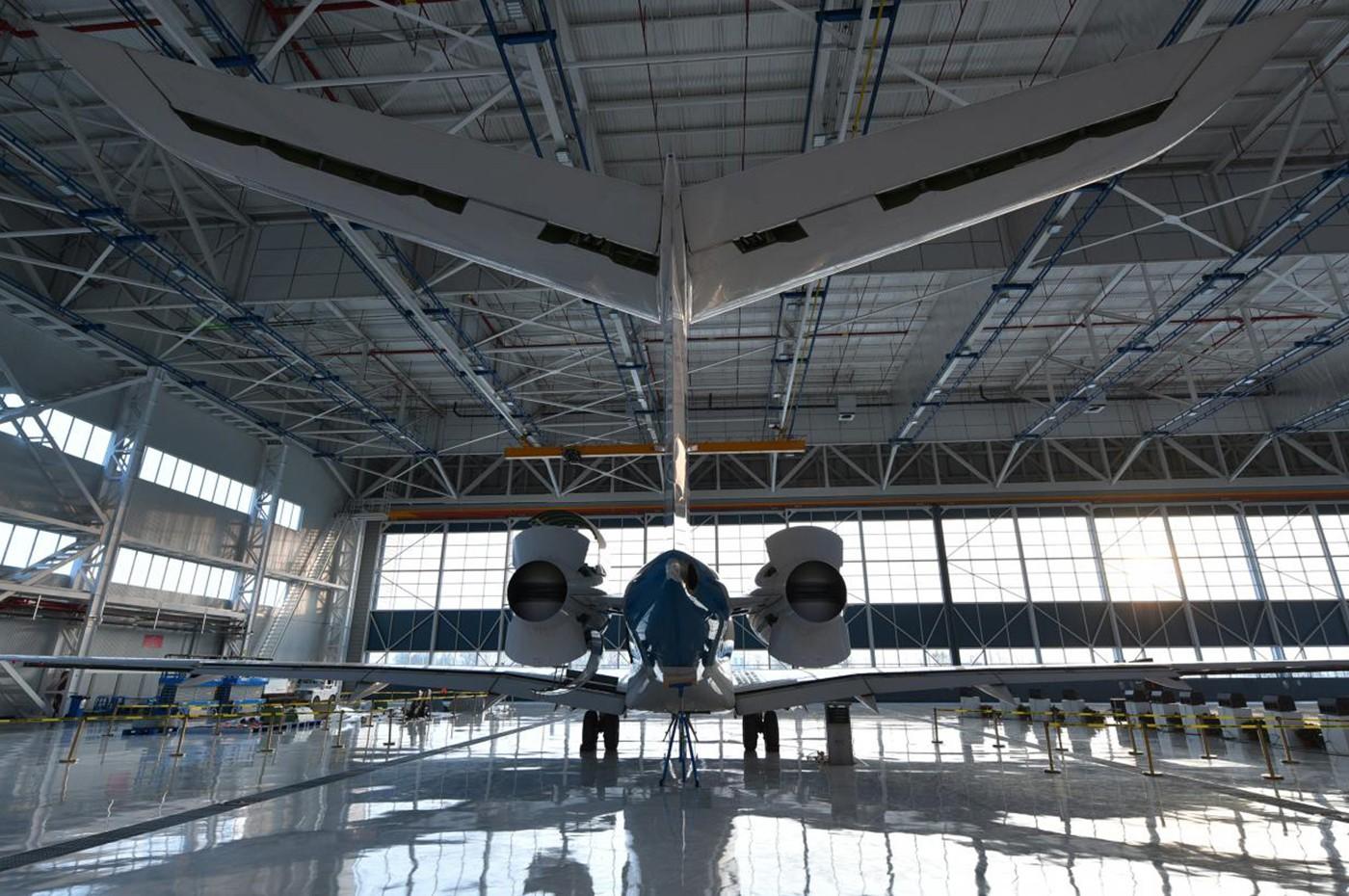 Tianjin Service Centre Hangar
