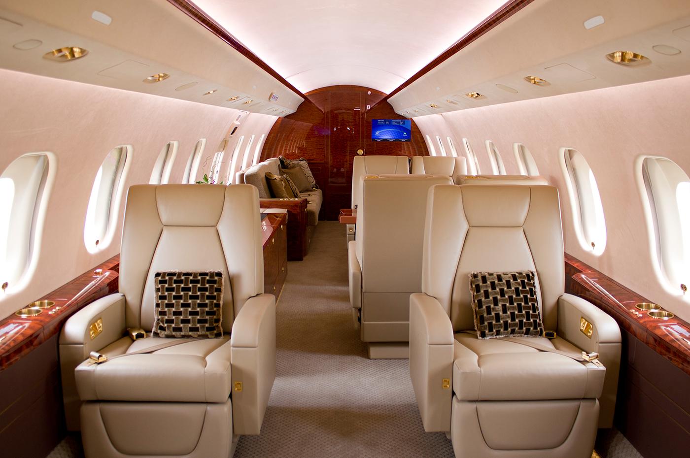 Global Express Vision 6000 S/N9490 - Club Suite