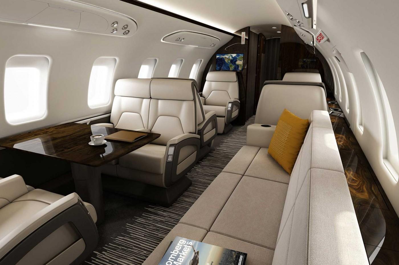 Challenger 650 aft cabin