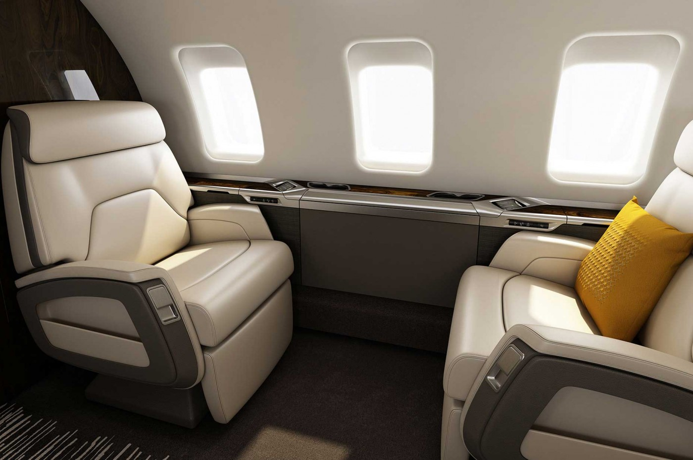 Challenger 650 Club Seating