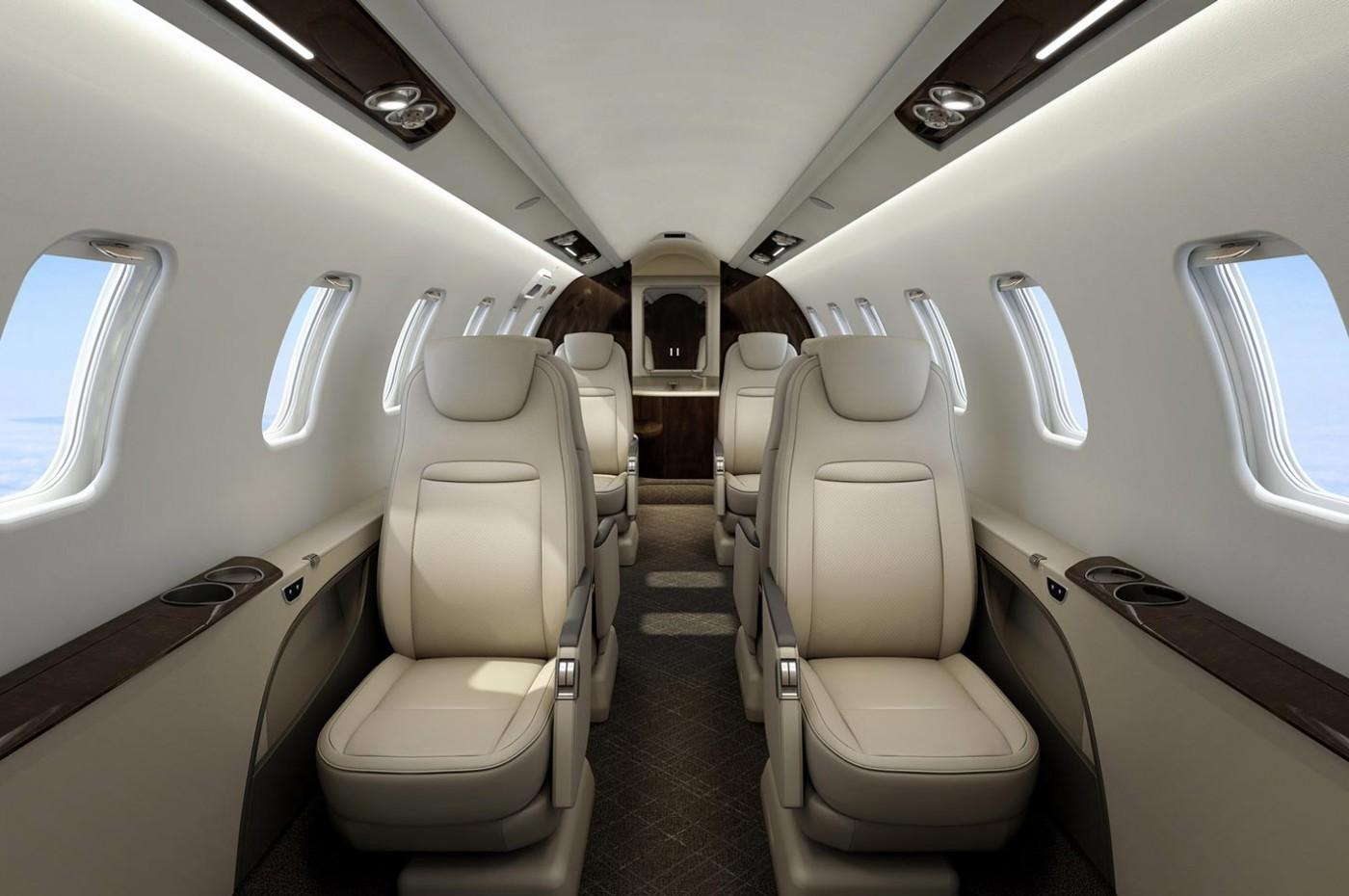 Learjet 75 Liberty forward cabin