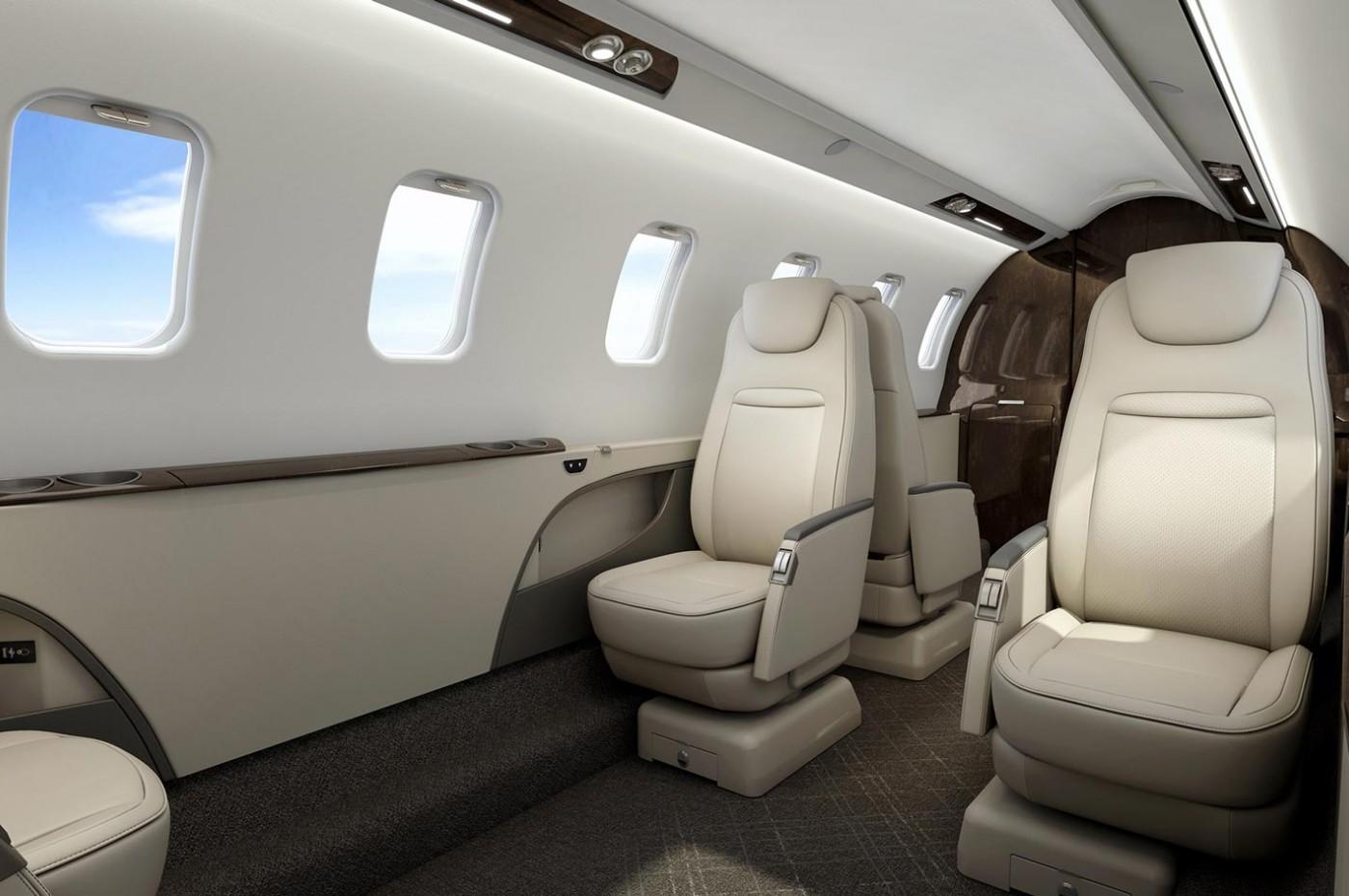 Learjet 75 Liberty aft cabin