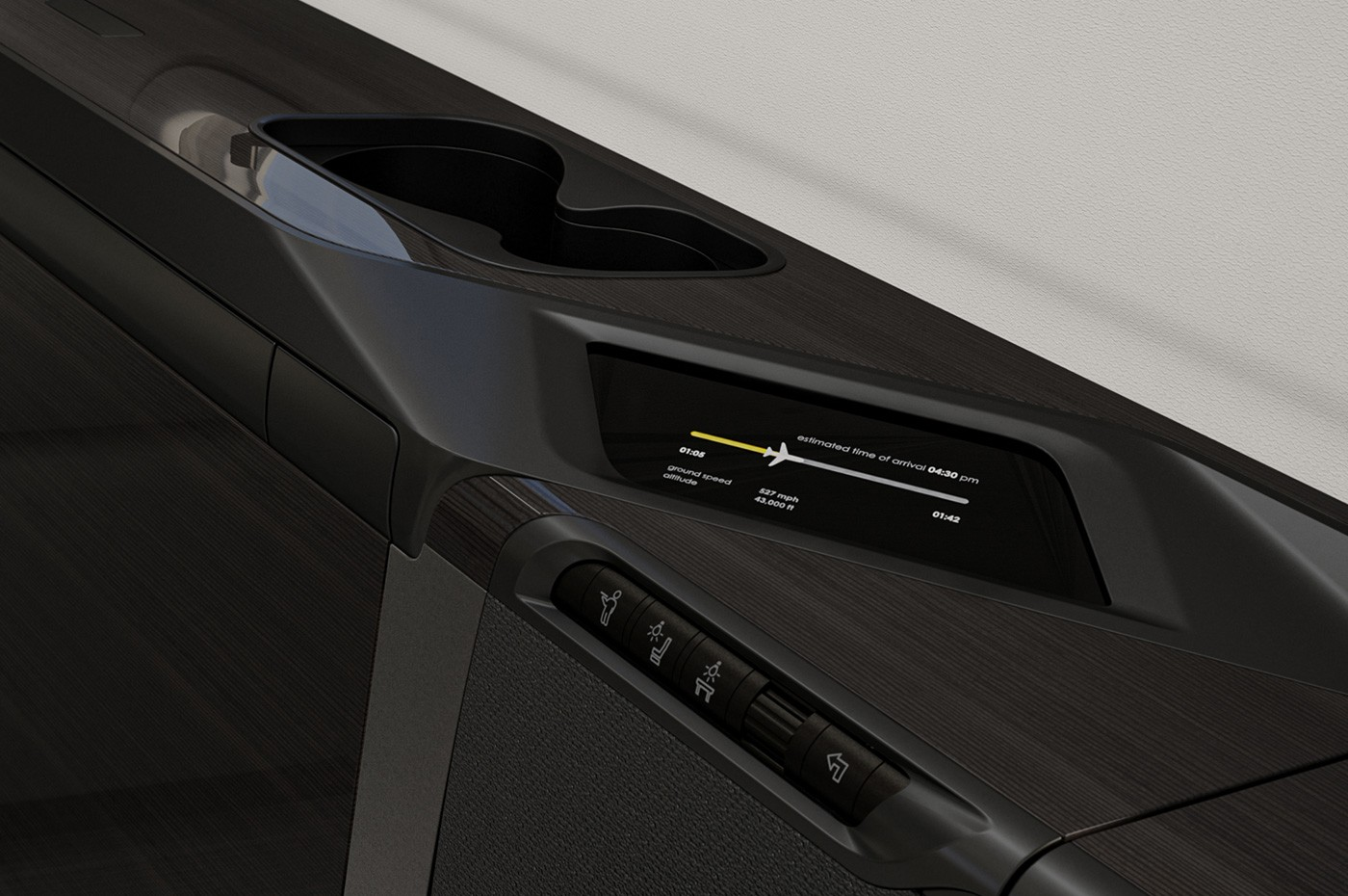 Challenger 350 Cabin Management System