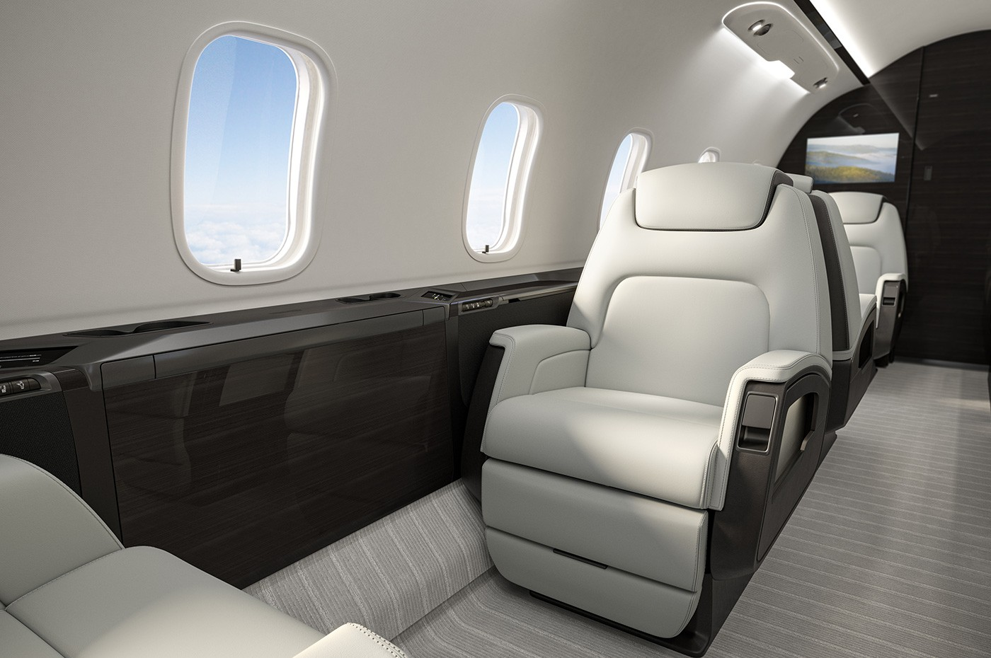 Challenger 350 Club Seating