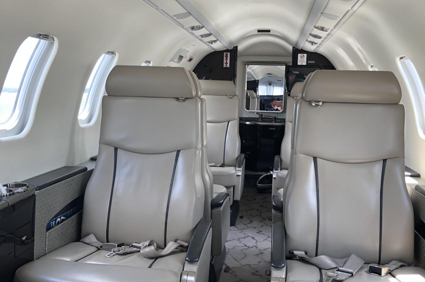 Learjet 45XR Interior