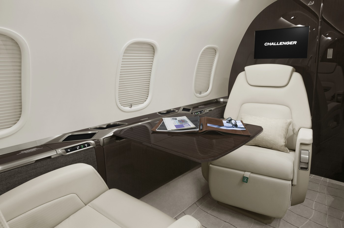 Challenger 350 S/N 20823 Seat