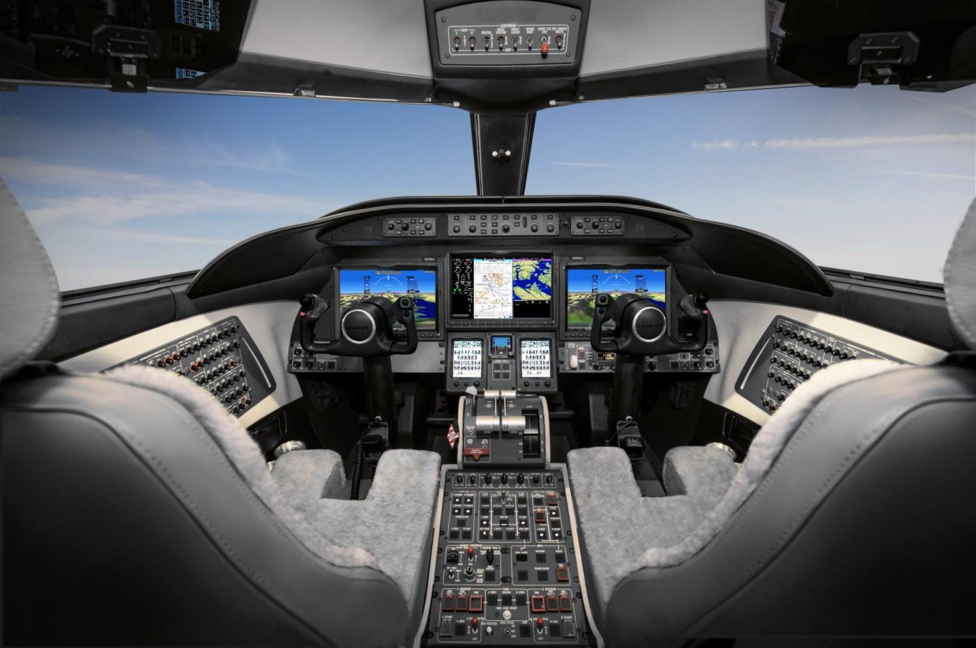 Garmin® G5000® avionics suite retrofit for Learjet 70 and 75