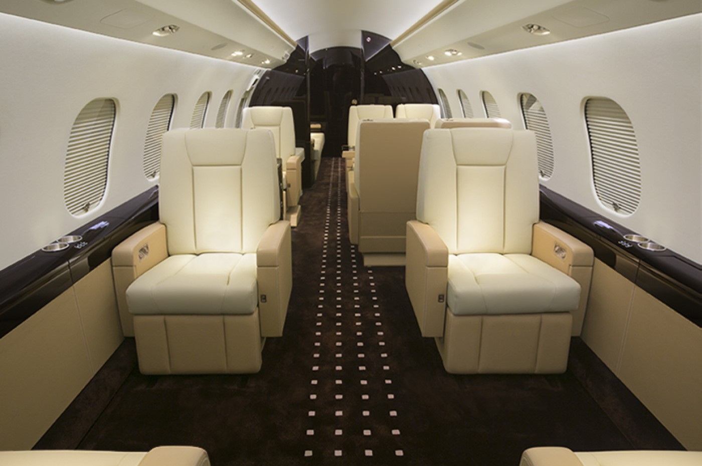 Global 6000 Aft Cabin