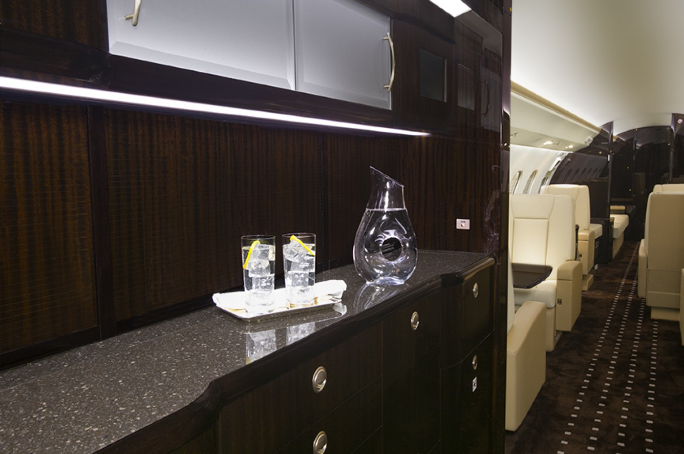 Global 6000 Galley