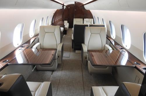 Global 5000 Interior