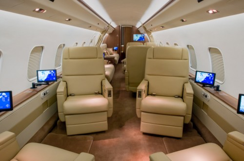 Global Express Interior view