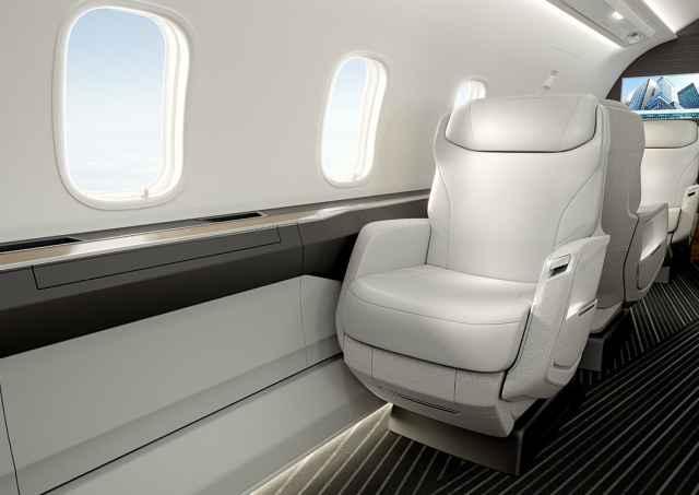Challenger 3500 Nuage seat