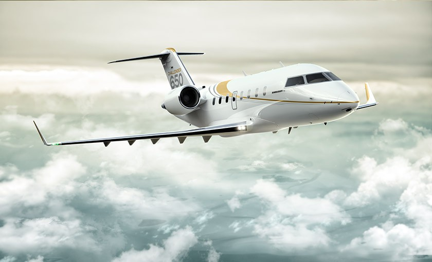 Challenger 650 Bombardier Business Aircraft