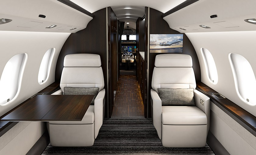 Global 6000 cabin experience
