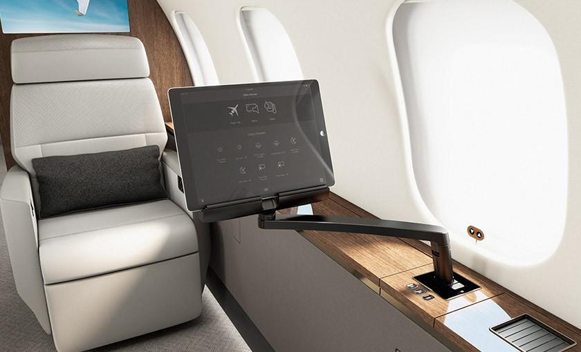 Global 5000 cabin management system