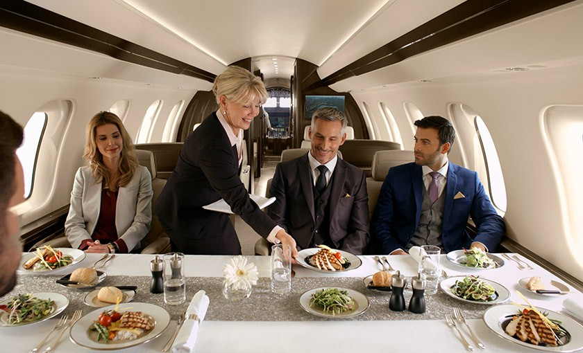 Global 7500 dining table
