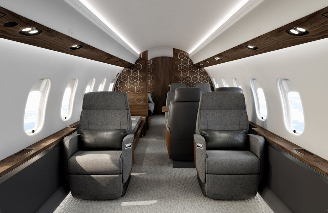 Global 6500 Larget cabin