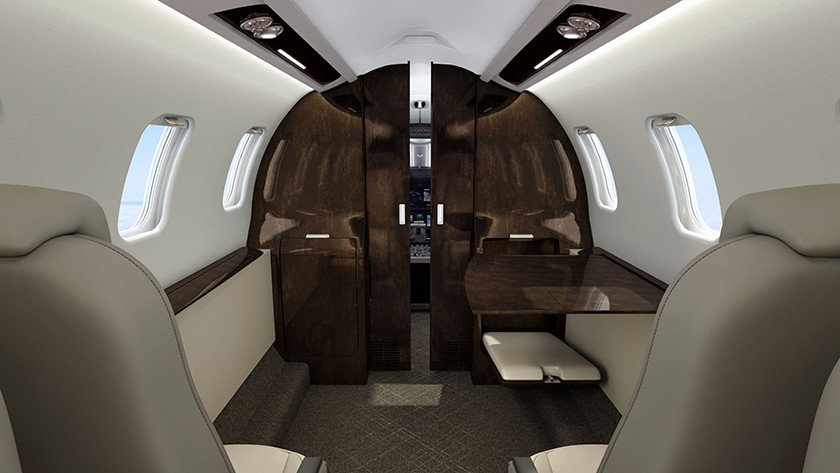 Learjet 75 Liberty - Quietest, most private cabin