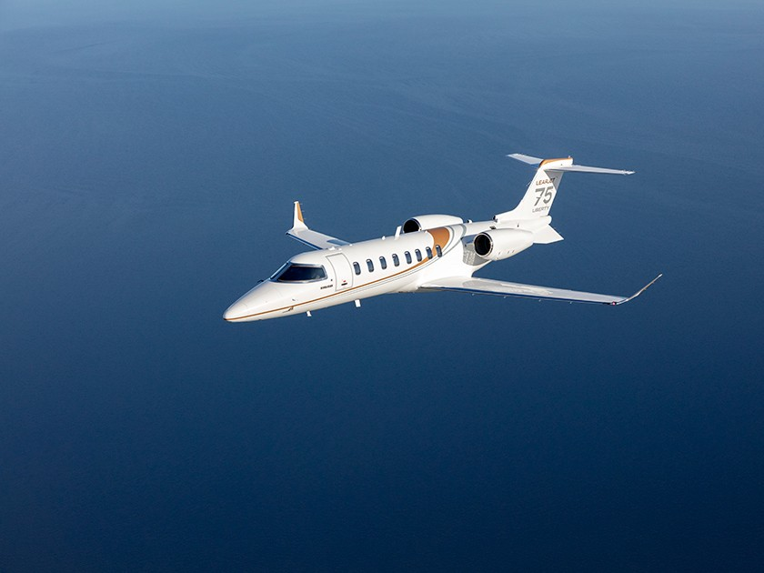 Learjet 75 Liberty - Smoothest ride