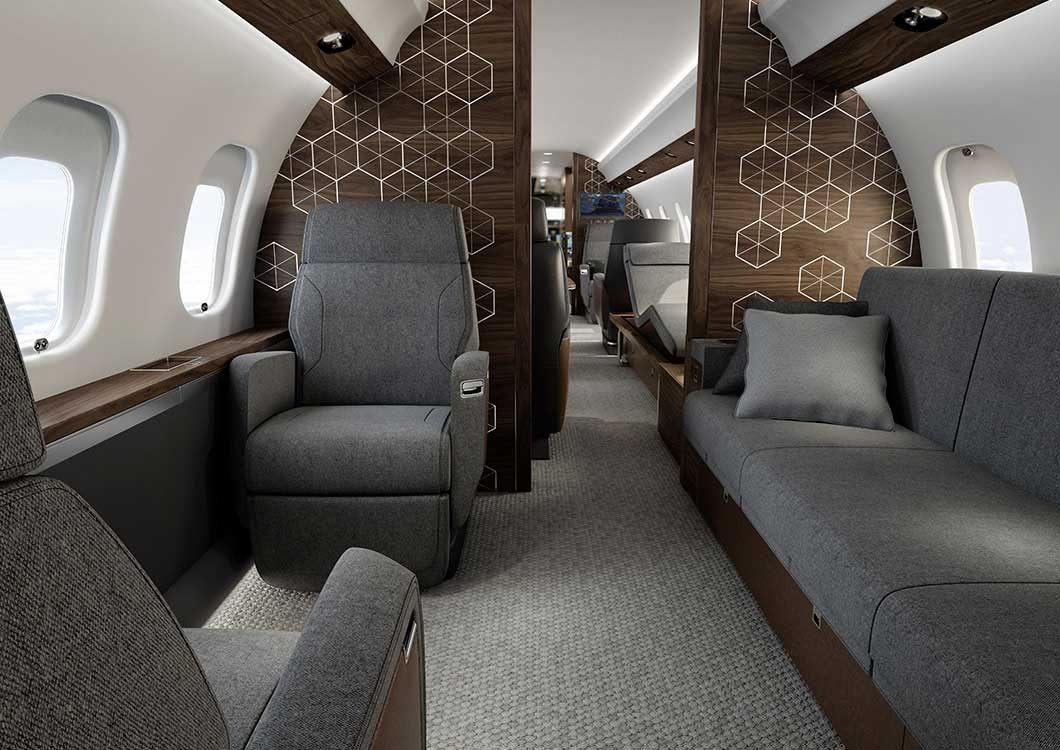 Global 6500 Private Suite