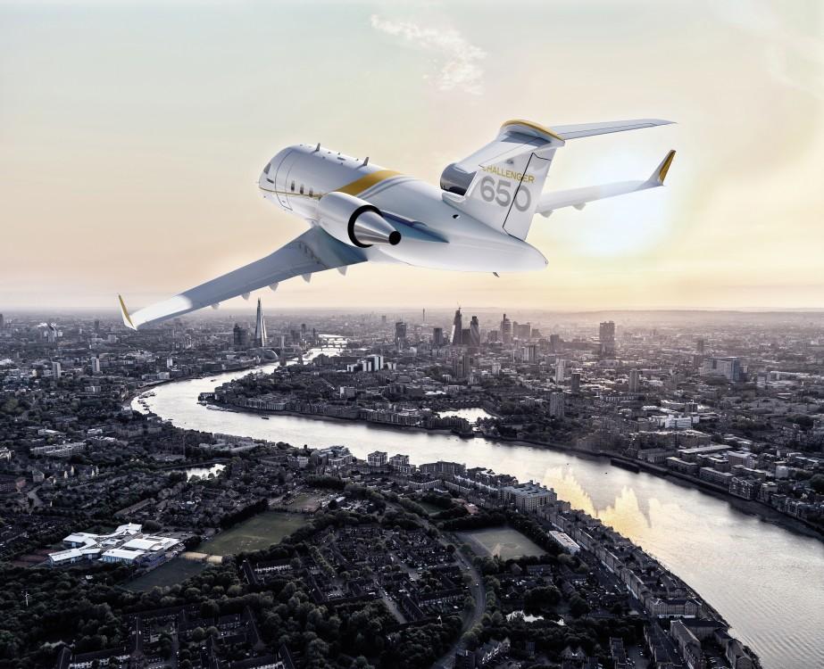 Challenger 650 steep approach certification
