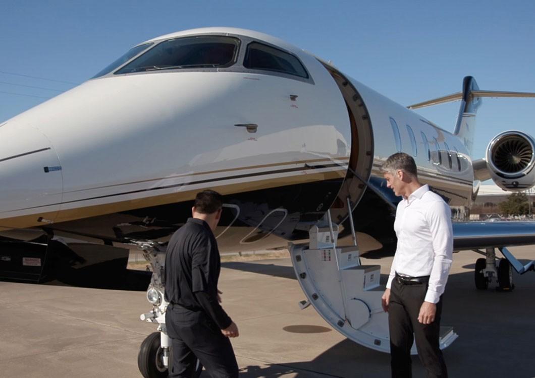 Représentants de service de Bombardier