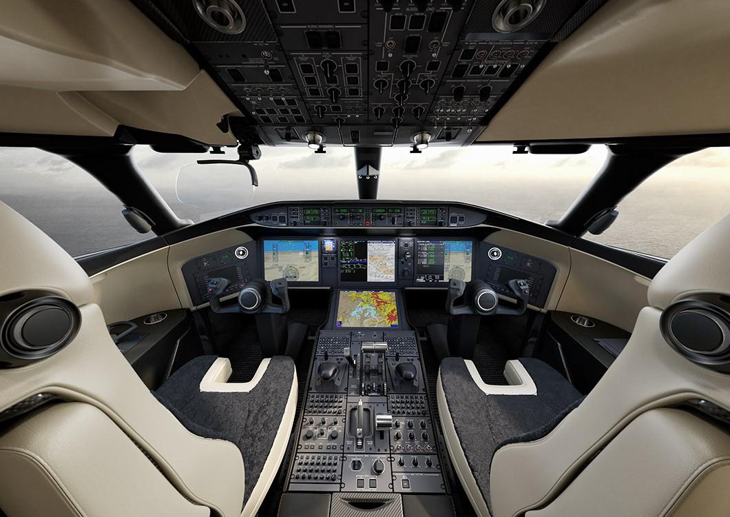 Bombardier Vision flight deck