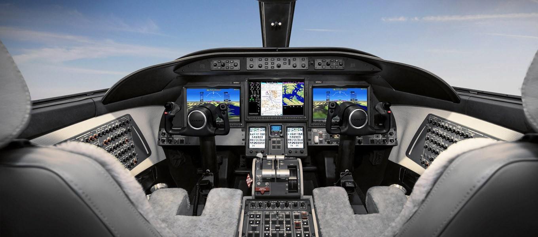 Mise à niveau logicielle G5000MD Phase III de GarminMD pour les Learjet 70 et 75