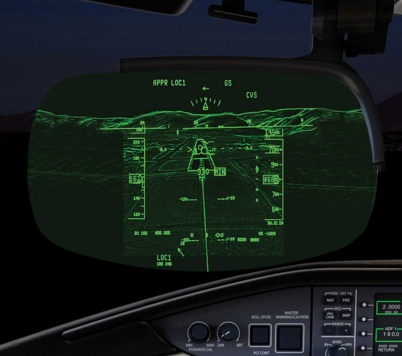 Global 6500 combined vision system