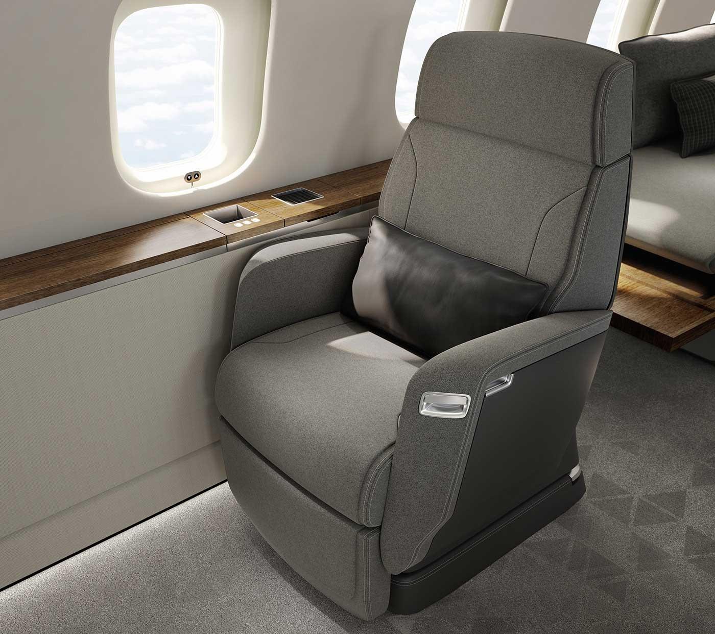Global 5500 Nuage seat